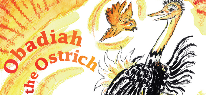Bold Beasts - Obadiah the Ostrich
