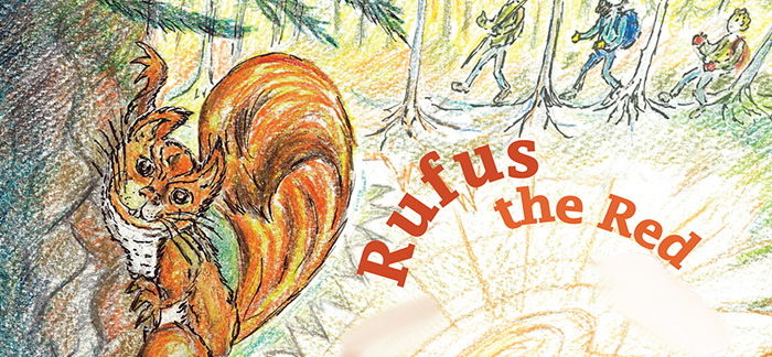 Bold Beasts: Rufus the Red Squirrel